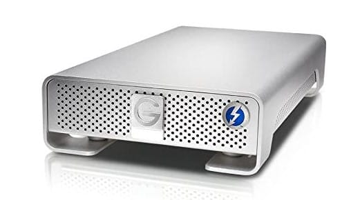 G-TECHNOLOGY - best hard drive for video editing