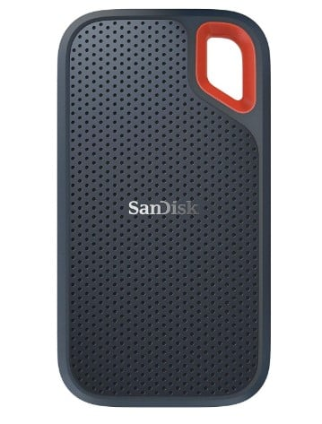 SANDISK 500GB - best hard drive for video editing