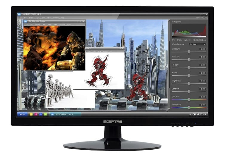 best monitor for watching movies