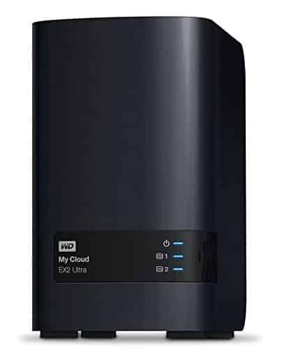 WD 20TB MY CLOUD EX2 ULTRA NETWORK ATTACHED STORAGE – NAS