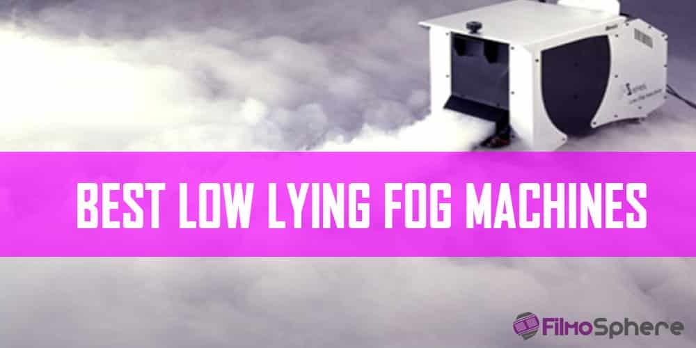 LOW LYING FOG MACHINES
