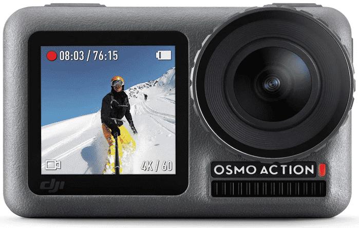 DJI OSMO ACTION - best camera for vlog