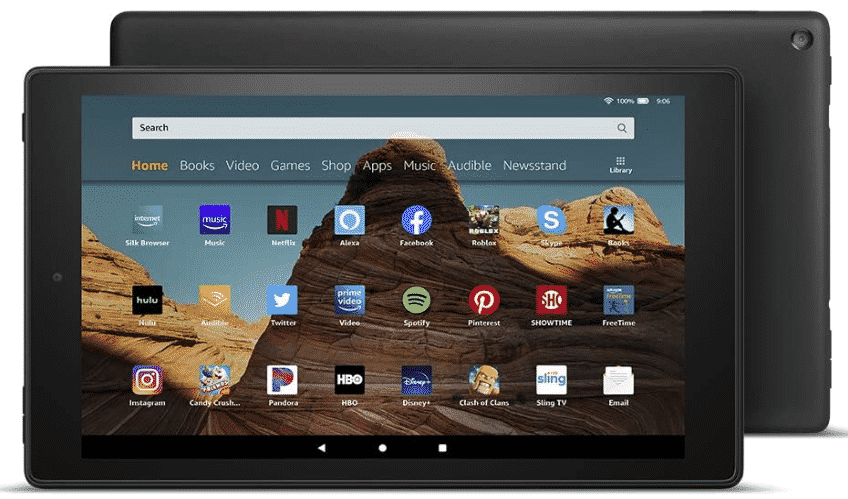 FIRE HD - best tablet for photo editing