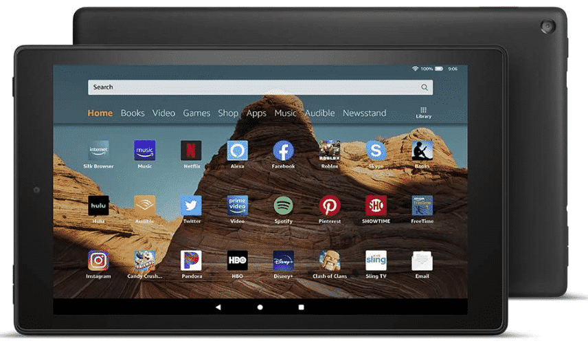FIRE HD - best tablet for watching movies