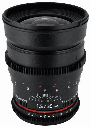 Rokinon Cine CV35-C 35mm