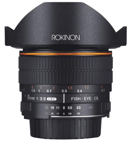 best lens for DSLR filmmaking