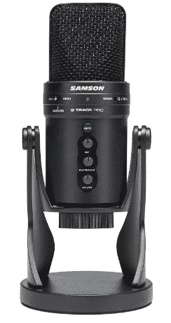 SAMSON G-TRACK - best mic for voice over