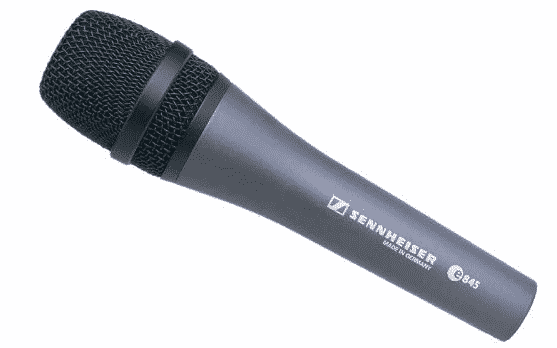 Sennheiser e845 Extended High Frequency Response Supercardioid Microphone best microphone for live vocals