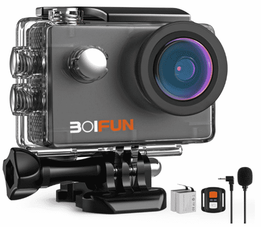 BOIFUN 4K - best action camera under 100