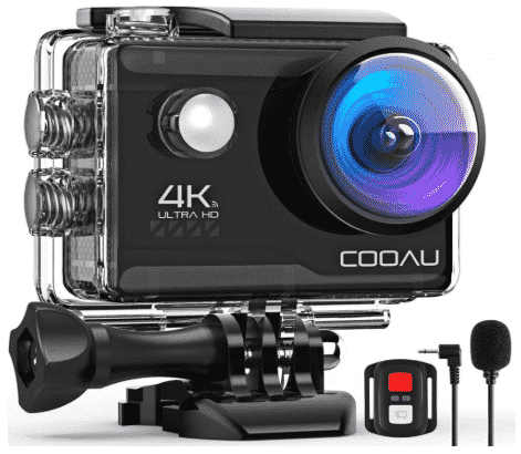 COOAU 4K - best action camera under 100