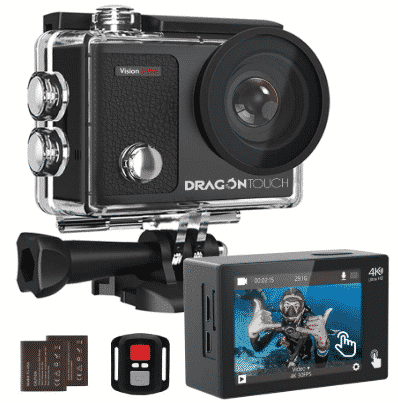 DRAGON TOUCH - best action camera under 100