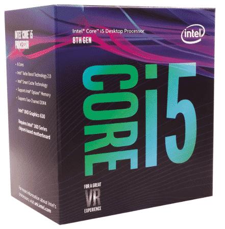 Intel Core i5-8400