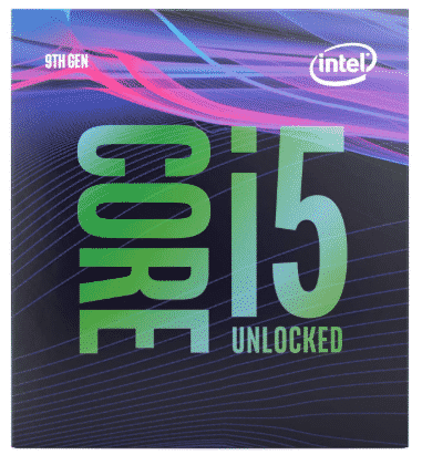 INTEL CORE I5-9600K - best processor for video editing