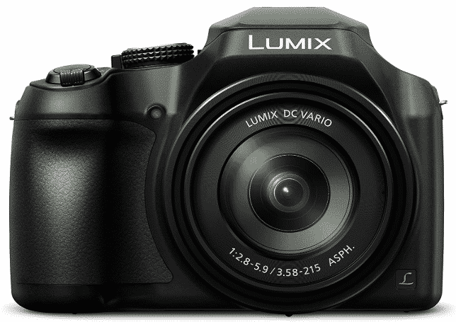 PANASONIC LUMIX  - best point and shoot camera under 300