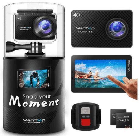 VANTOP 4K - best action camera under 100
