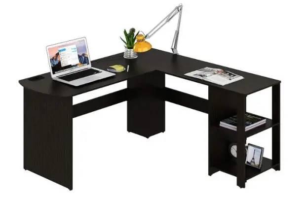SHW L-SHAPED - best video editing desks