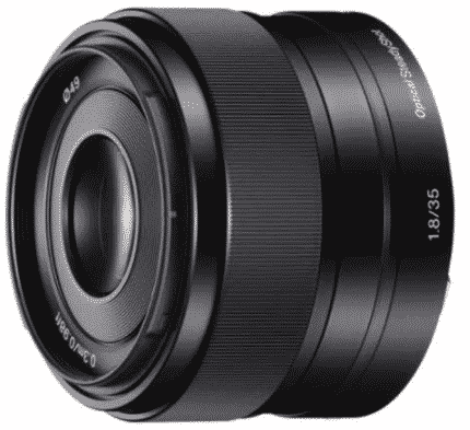 SONY SEL35F18 - best lens for Sony a6000