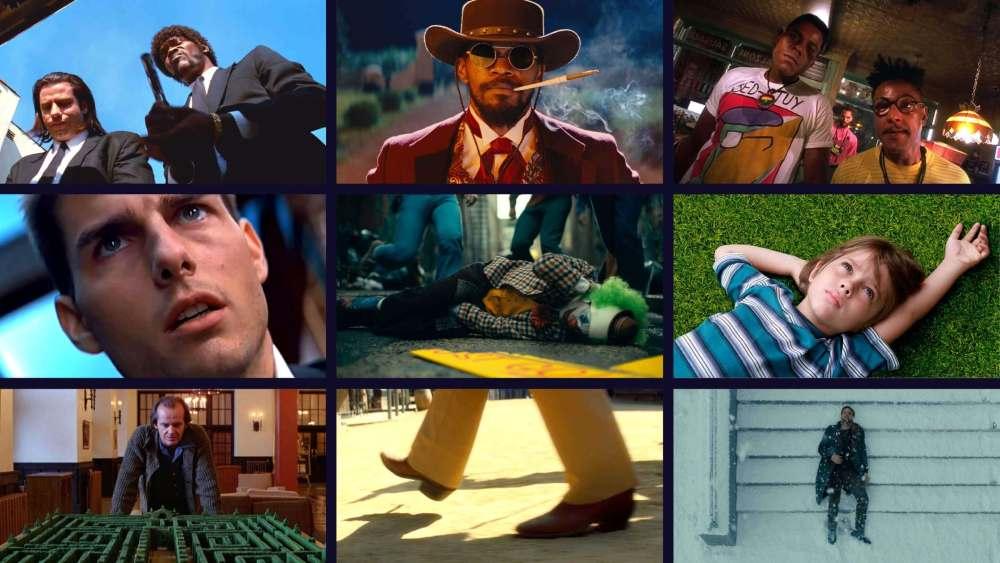 types of framing in film