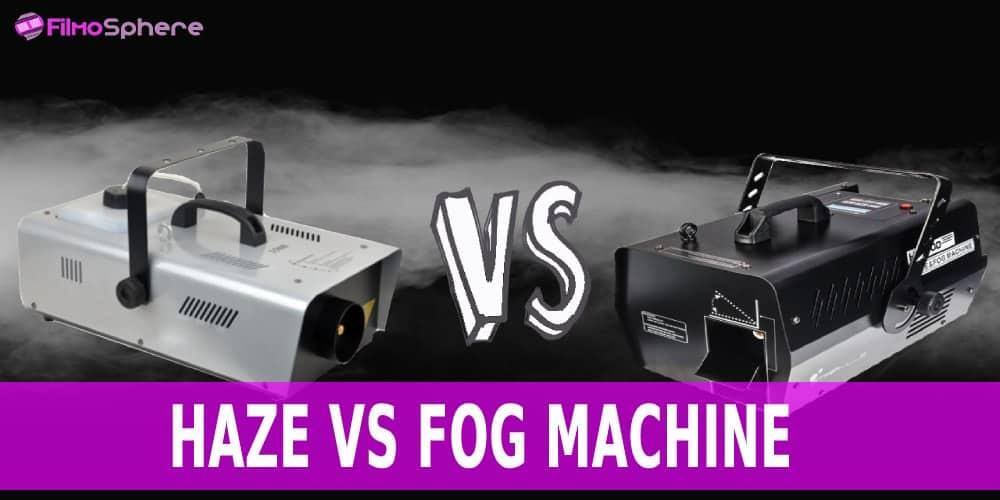 Haze Vs Fog Machine