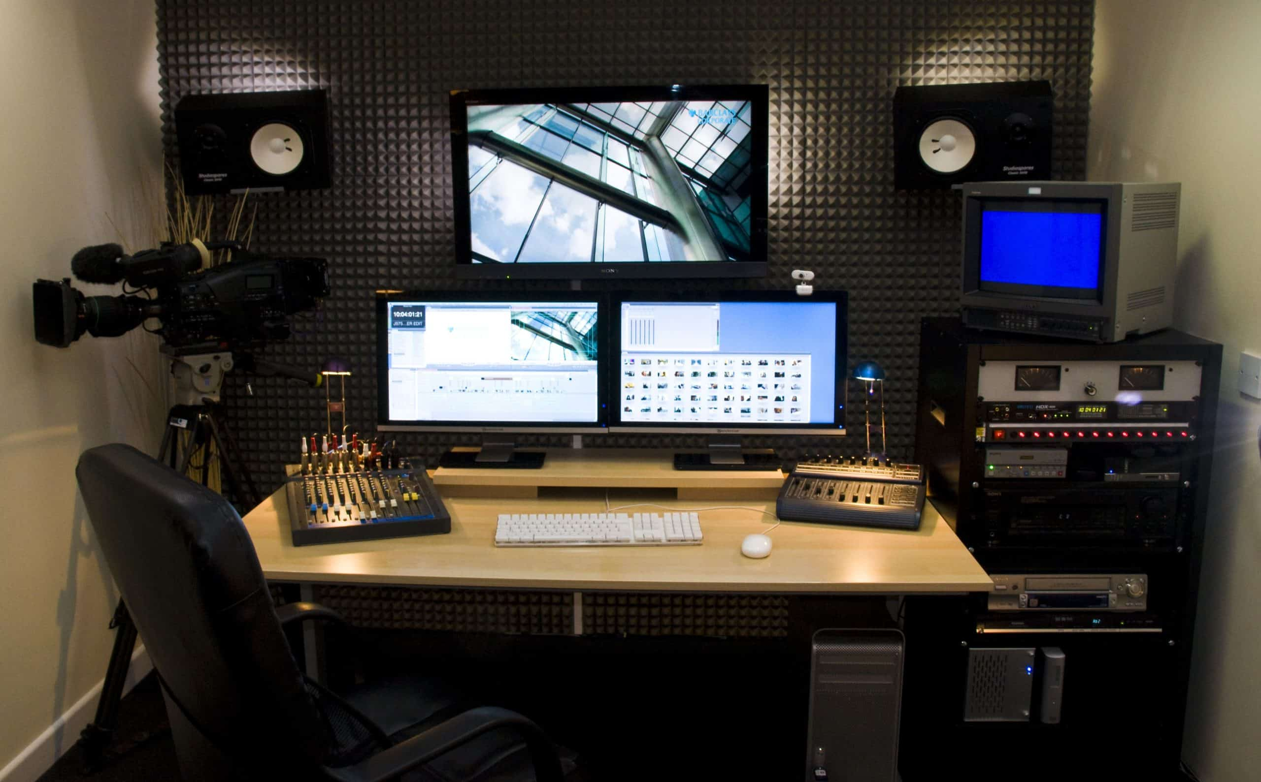 video editing desks