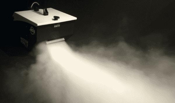 how to use fog machine