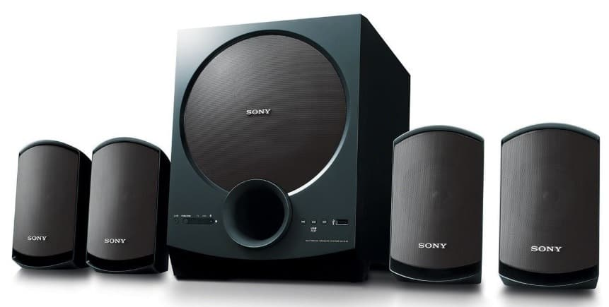 HOW TO CONNECT A SUBWOOFER TO SPEAKER OUTPUTS?