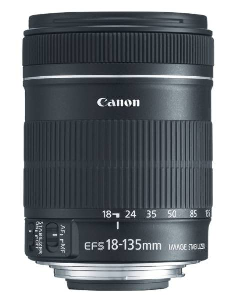 CANON EF-S 18-135MM - best canon lens for video