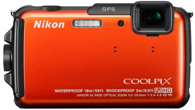 NIKON COOLPIX AW110 - best camera for snorkeling