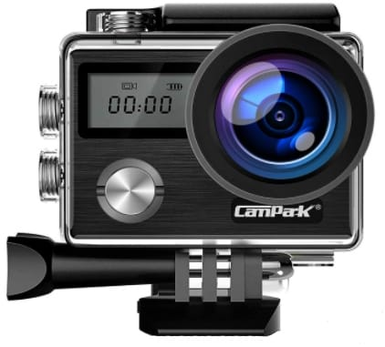 CAMPARK X20 - best camera for snorkeling