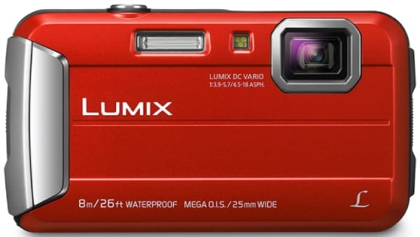 PANASONIC LUMIX DMC-TS30 - best camera for snorkeling