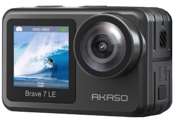 AKASO BRAVE 7 LE - best camera for snorkeling