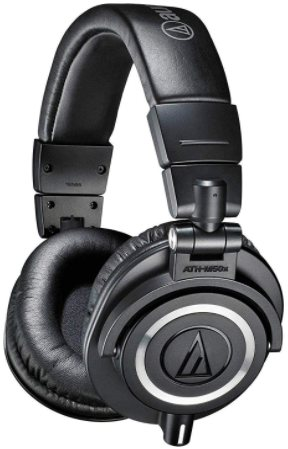 AUDIO-TECHNICA ATH-M50X - best headphones for video editing