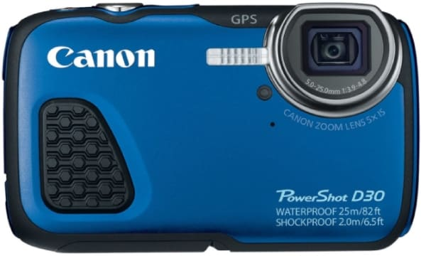 CANON POWERSHOT D30 - best camera for snorkeling