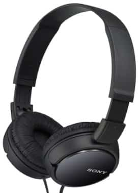 SONY MDRZX110/BLK - best headphones for video editing
