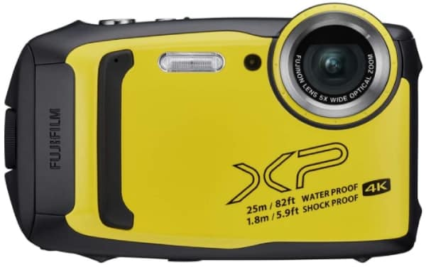 FUJIFILM FINEPIX XP140 - best camera for snorkeling