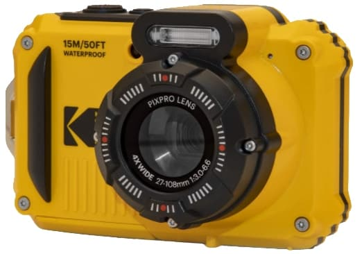 KODAK PIXPRO WPZ2 - best camera for snorkeling