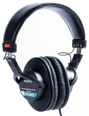 SONY MDR7506 - best headphones for video editing