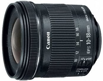 Canon EF-S 10-18mm-best lens for vlogging