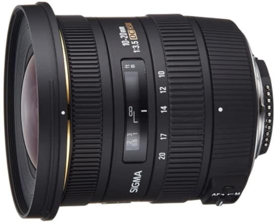 Sigma 10-20mm-best lens for vlogging