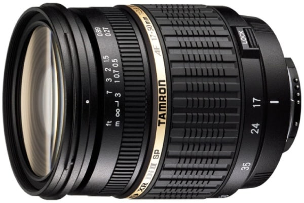 Tamron SP AF 17-50mm-best lens for vlogging