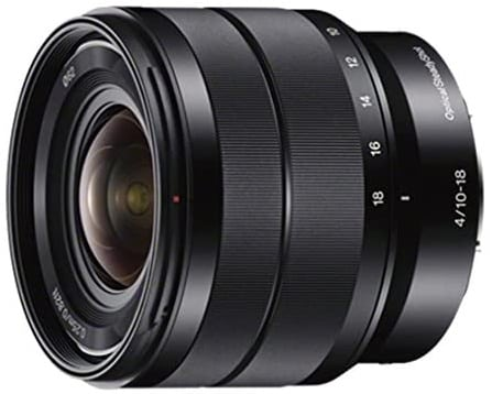 Sony - E 10-18mm-best lens for vlogging