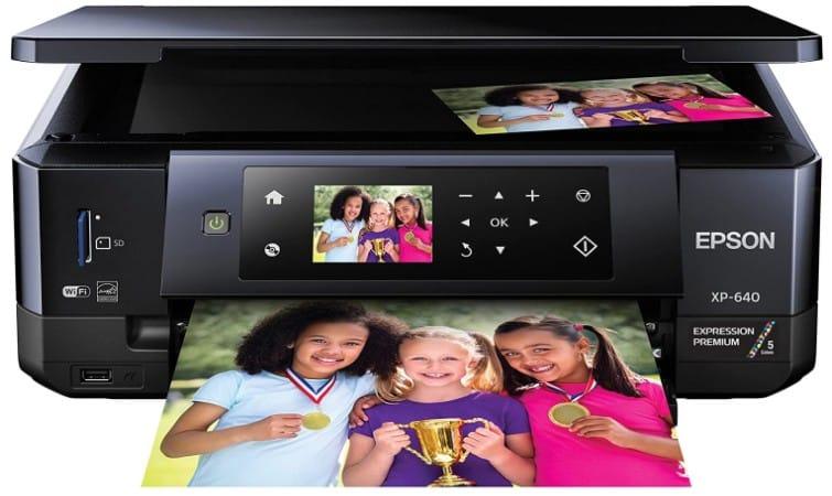 EPSON XP-640-best 4x6 photo printer