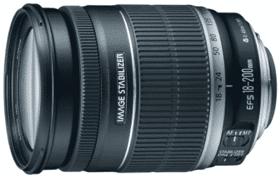 CANON EF-S 18-200MM - best canon lens for video