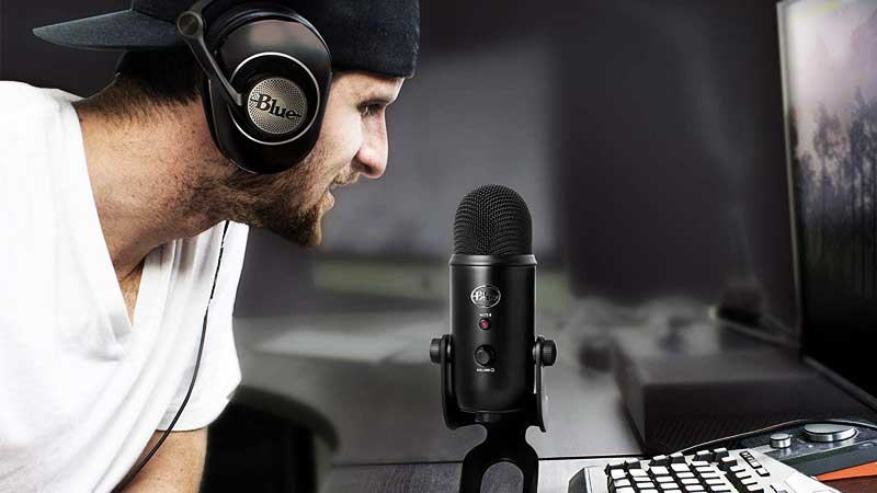 how to connect condenser mic to computer