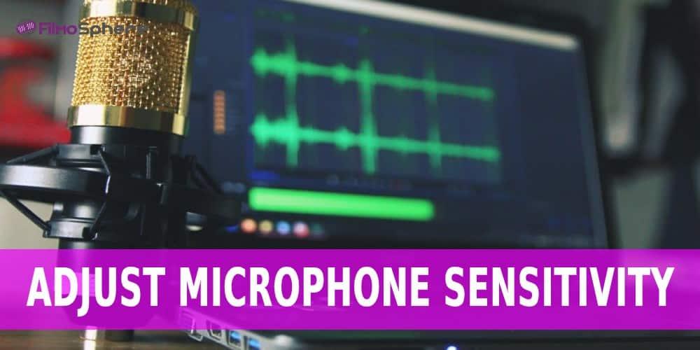 adjust microphone sensitivity