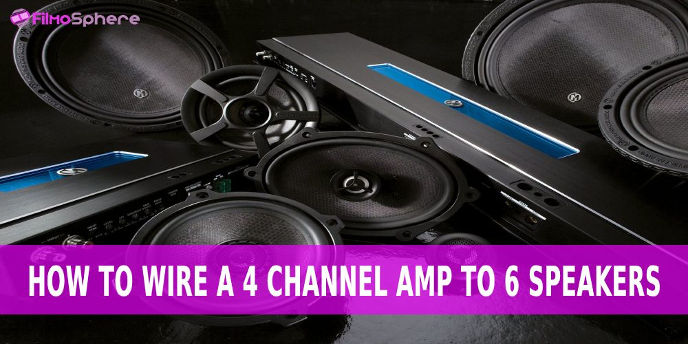how to wire a 4 channel amp to 6 speakers