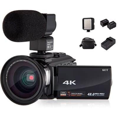 KOT 4K - best night vision camcorder