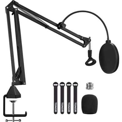 TONOR T20 - best microphone boom arm