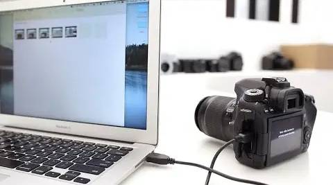 HOW TO CONNECT CAMERA ON MAC