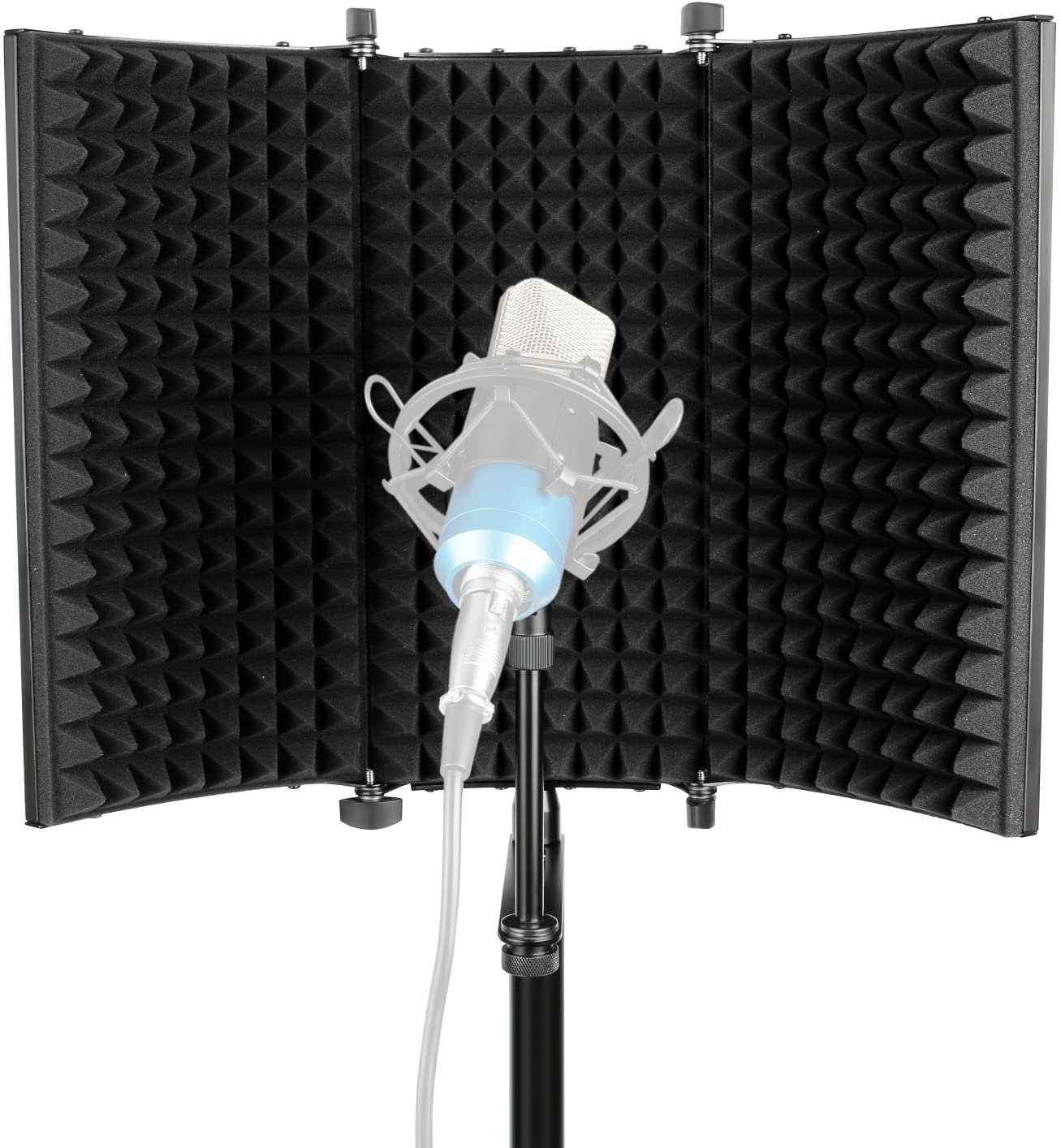 Neewer - best microphone isolation shield